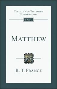 The-Gospel-of-Matthew-R-T-France-Small-Commentary